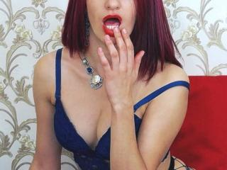 Picture of the sexy profile of LaraXFontaine, for a very hot webcam live show !
